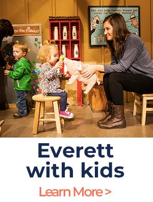 Everett with kids new brand